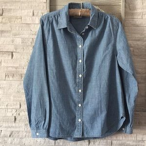 J.Crew Denim Top Size S